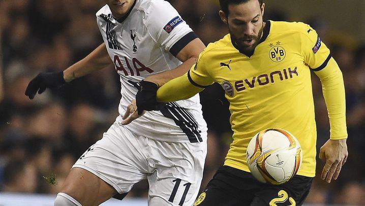 Europa League: Lockerer Sieg für den BVB in Tottenham