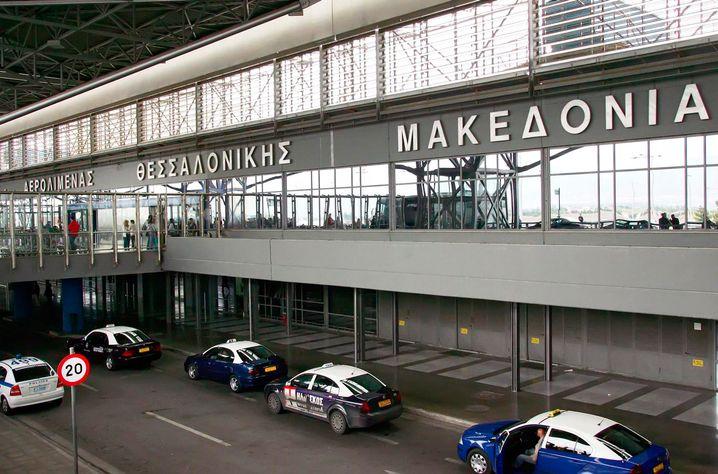 Flughafen Thessaloniki: Für drei Millionen Passagiere gebaut, von sieben Millionen genutzt