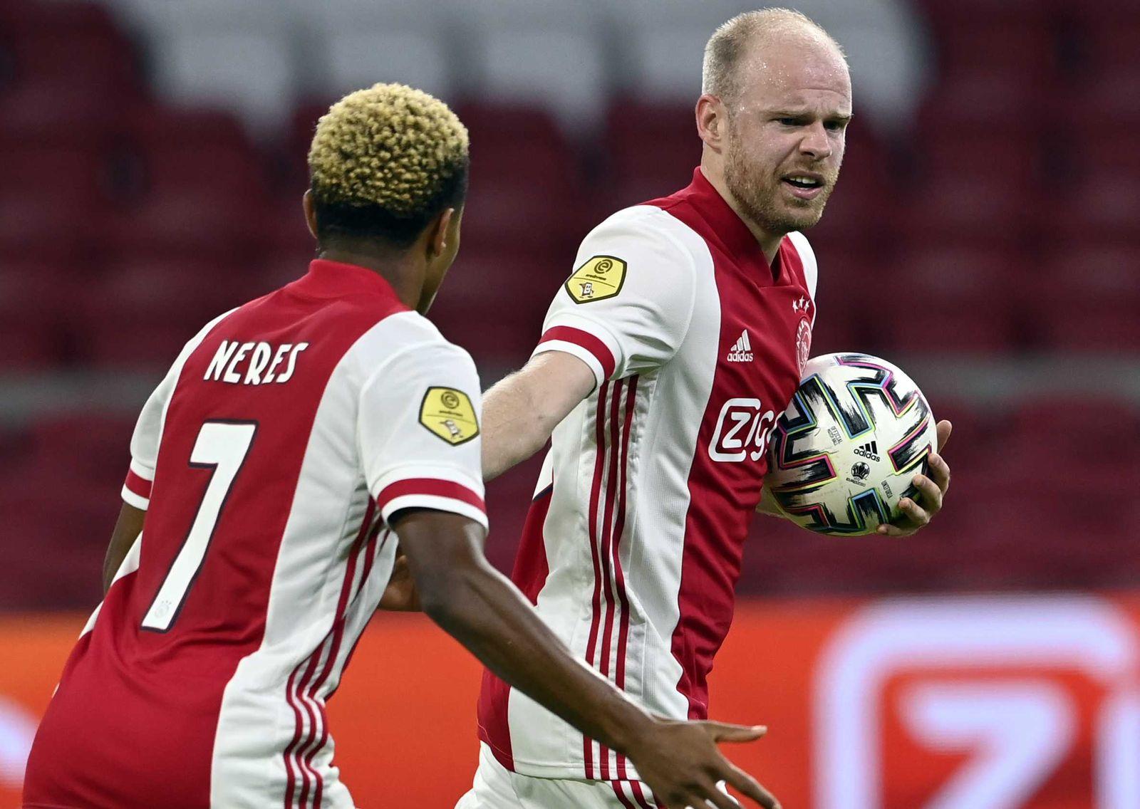 Ajax v Fortuna Sittard, Amsterdam, Netherlands - 31 Oct 2020