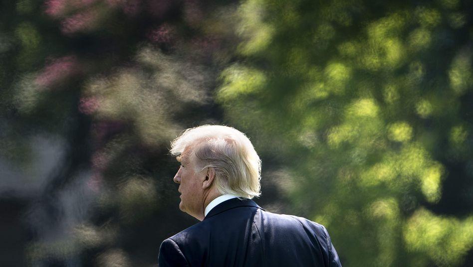 """Donald Trump im Garten des Weißen Hauses: """"Ich habe das Gefühl, dass es sehr erfolgreich sein wird"""""""