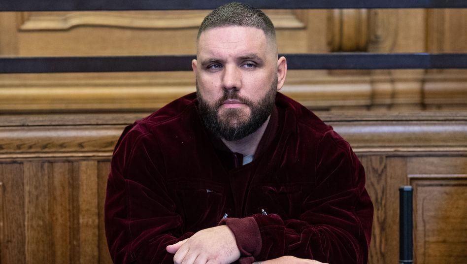 Angeklagter Rapper Fler: »Entweder der verschwindet oder ich gehe« (Archivbild)