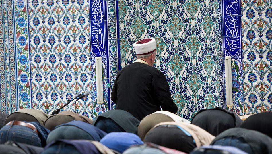 Muslime beim Gebet