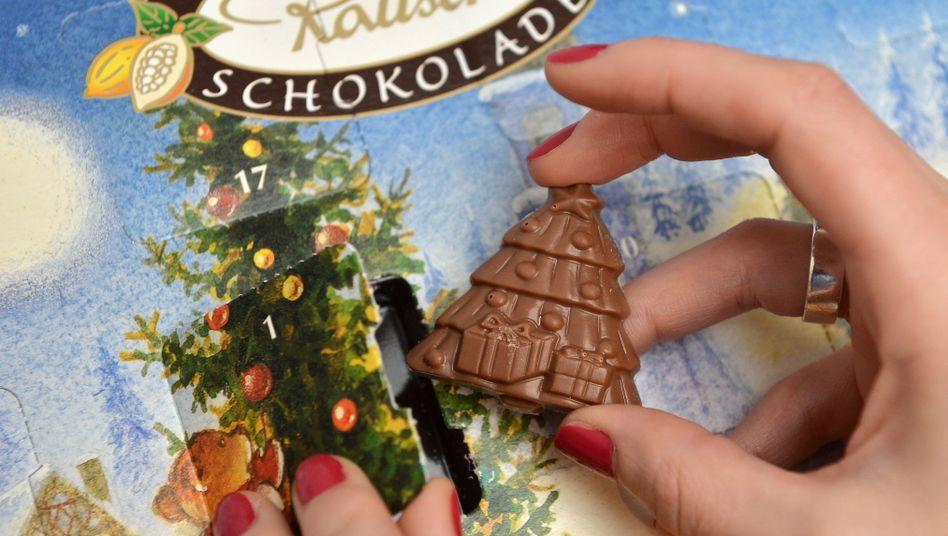 Schokoladen-Adventskalender: Rückstände von schädlichen Mineralölen