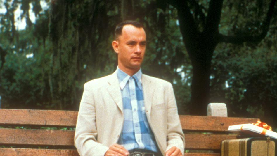 """Tom Hanks in seiner Rolle als """"Forrest Gump"""""""