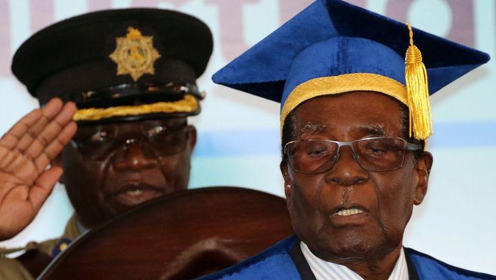 Simbabwe: Demonstranten fordern Mugabes Rücktritt