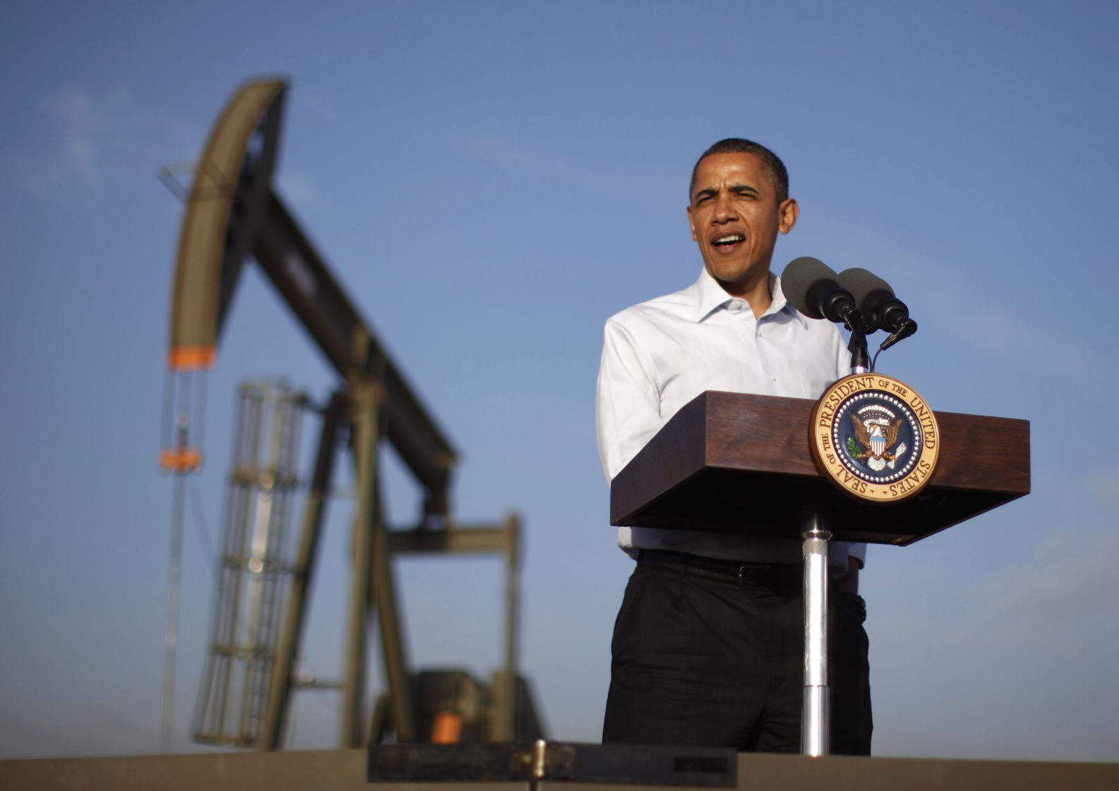 Obama / Energie / Ölförderung