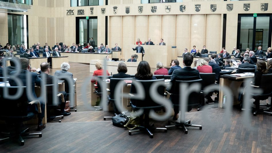 Sitzungssaal des Bundesrats in Berlin