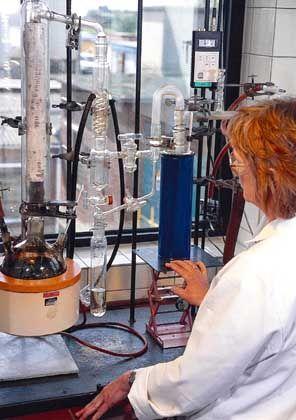Laborprüfung: Auf das Mischverhältnis kommt es an