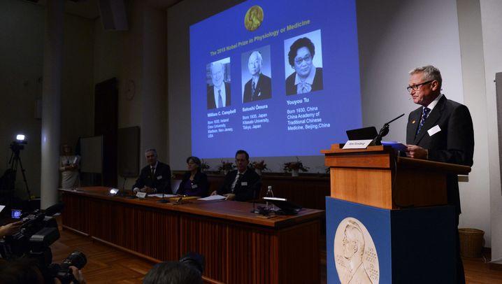 Ehrung: Nobelpreis für Parasitenforscher