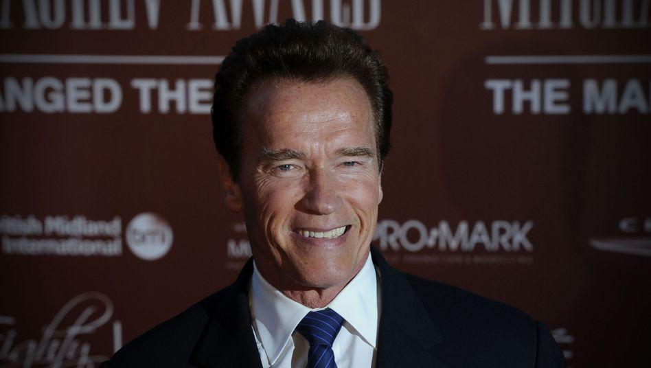 Bald alternder Kleinstadt-Sheriff: Arnold Schwarzenegger