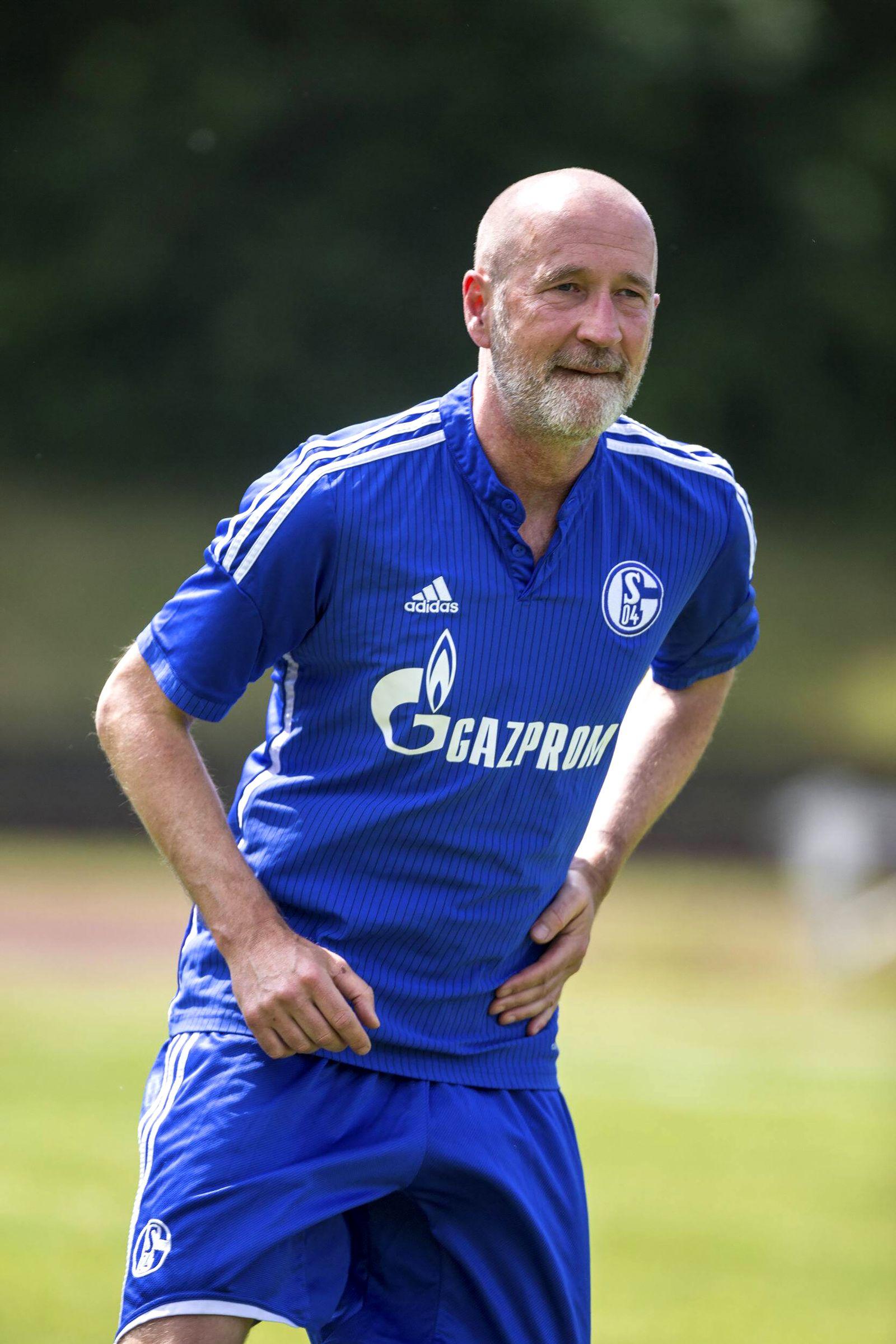 EINMALIGE VERWENDUNG Peter Lohmeyer/ Schalke