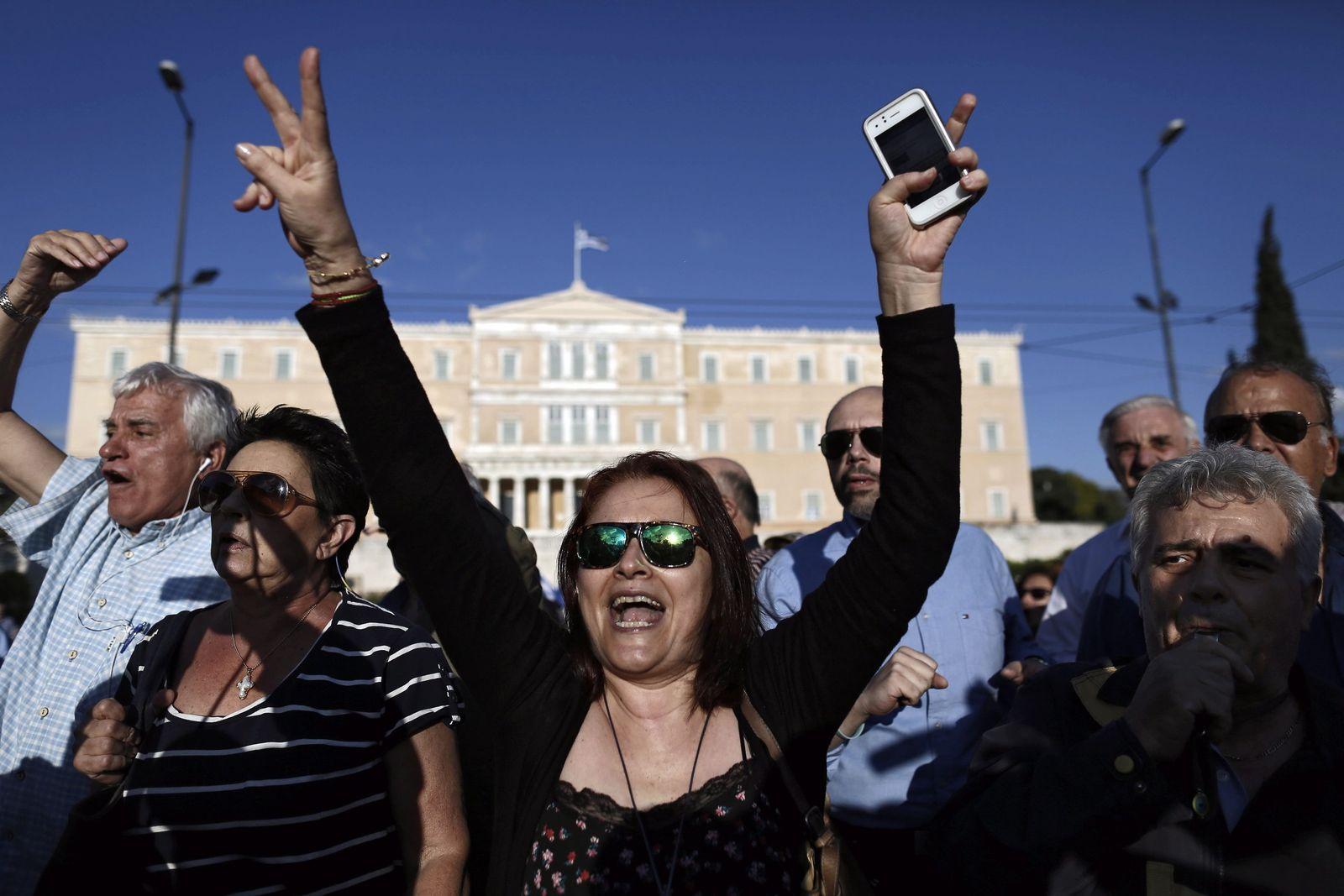 Demo Griechenland