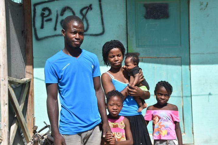 Familie Charlestin in Canaan: 16 Quadratmeter für fünf Menschen