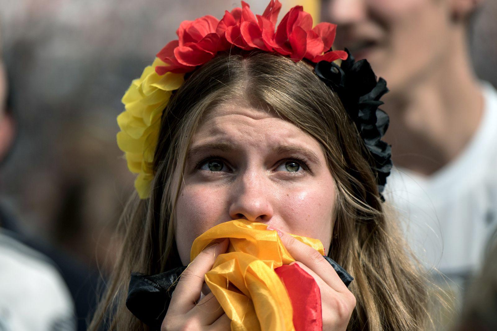 WM 2018 - Public Viewing - Deutschland - Südkorea