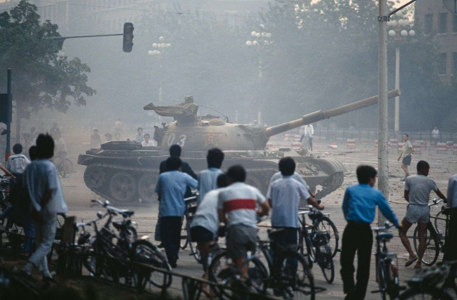 Chinese Army Crushes Tiananmen Square Protest