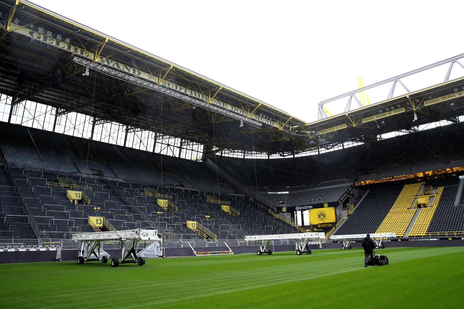 Bundesliga Matchday 26 Will Be Played Behind Closed Doors Despite The Coronavirus Spread