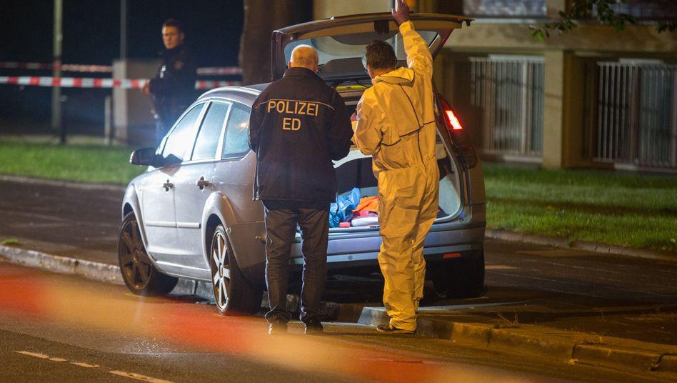 Polizisten in Gelsenkirchen