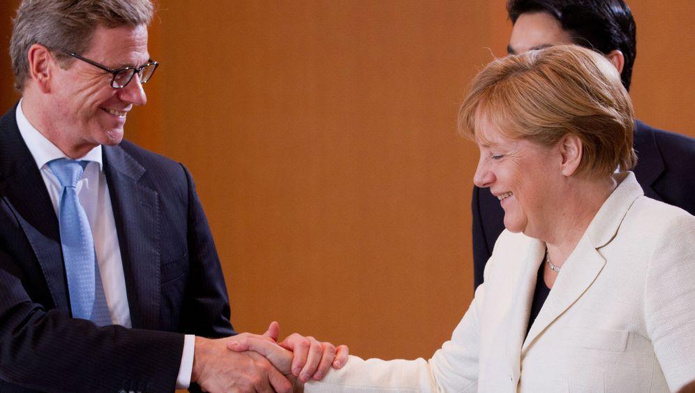 Merkel und Westerwelle: Szenen einer professionellen Freundschaft