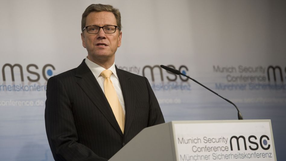 "German Foreign Minister Guido Westerwelle: ""We should use these events to create a critical public forum."""