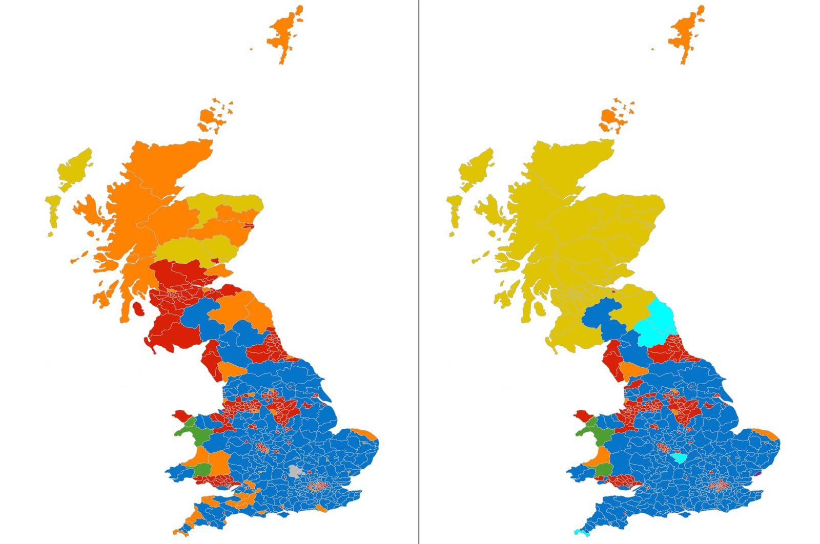 Wahlanalyse/ Großbritannien