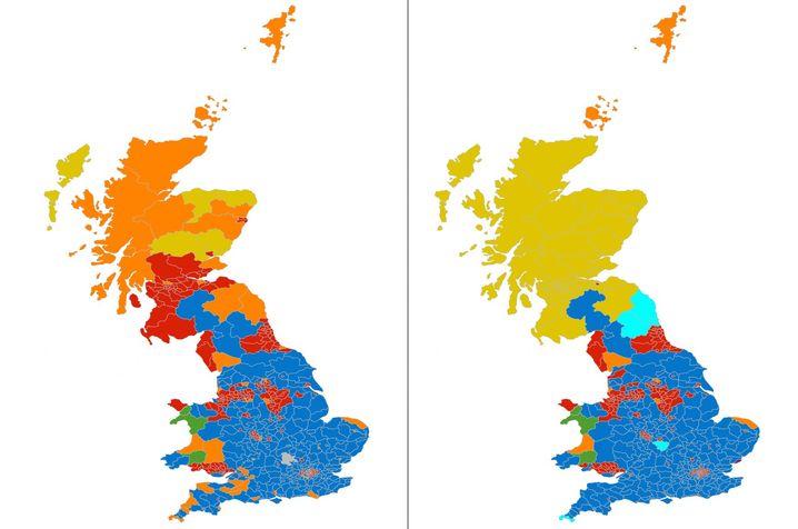 Schottland - die politische Landschaft 2010 und 2015