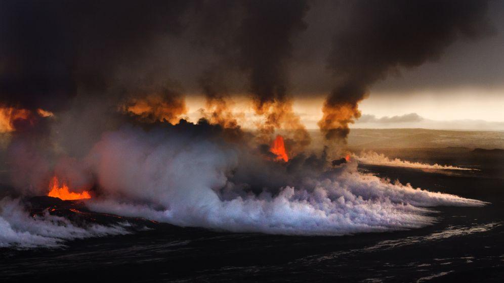 Isländische Naturgewalt: Lavaspektakel am Bárdarbunga
