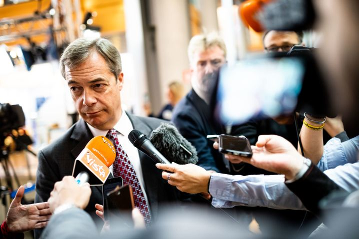 Nigel Farage: the high priest of EU-haters