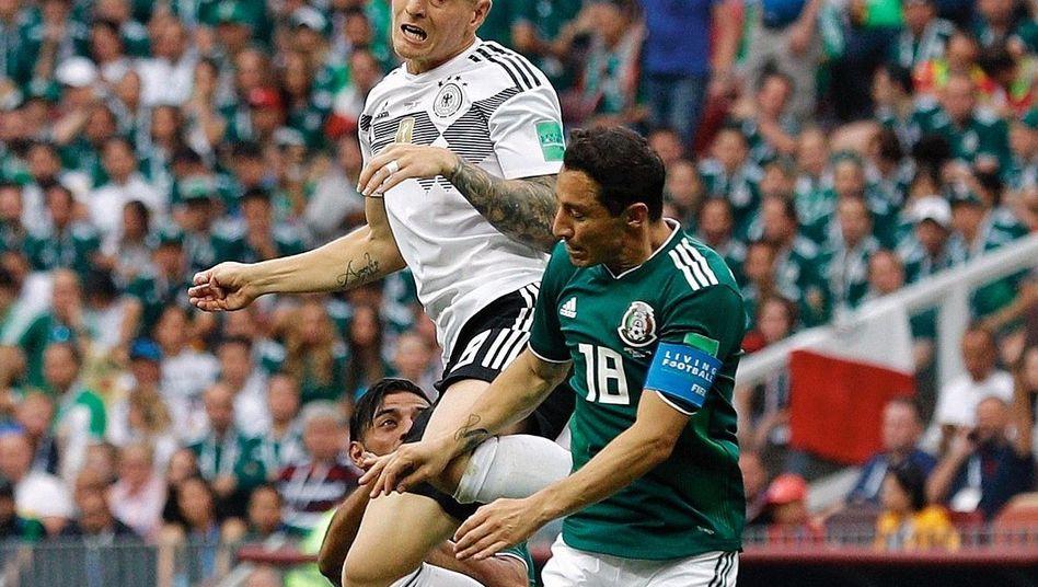 """Nationalspieler Kroos in der Partie gegen Mexiko: """"Toni ist kein Gruppentyp"""""""