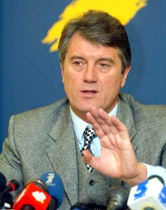 Fast wie ein Filmstar: So sah Juschtschenko vor der Erkrankung aus