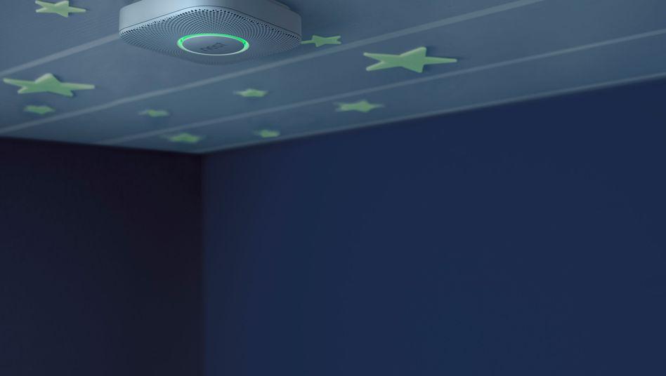 Nest-Rauchmelder (Werbebild): Rückrufaktion für Hunderttausende Geräte gestartet