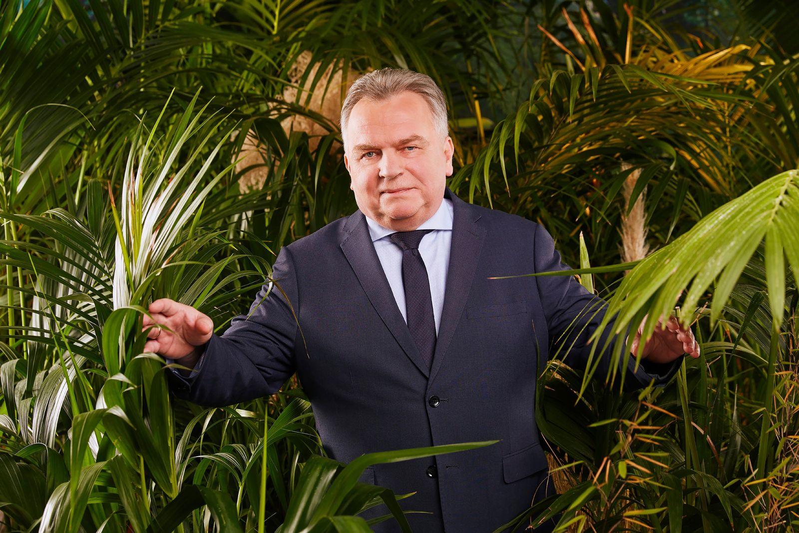 EINMALIGE VERWENDUNG Dschungelcamp/ Günther Krause