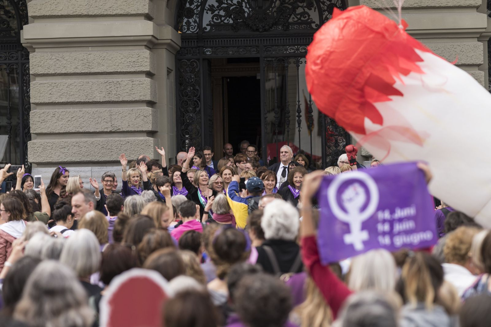 Frauenstreik für mehr Gleichberechtigung