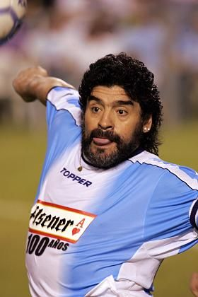 Ex-Weltstar Maradona: Übermäßiger Alkoholkonsum