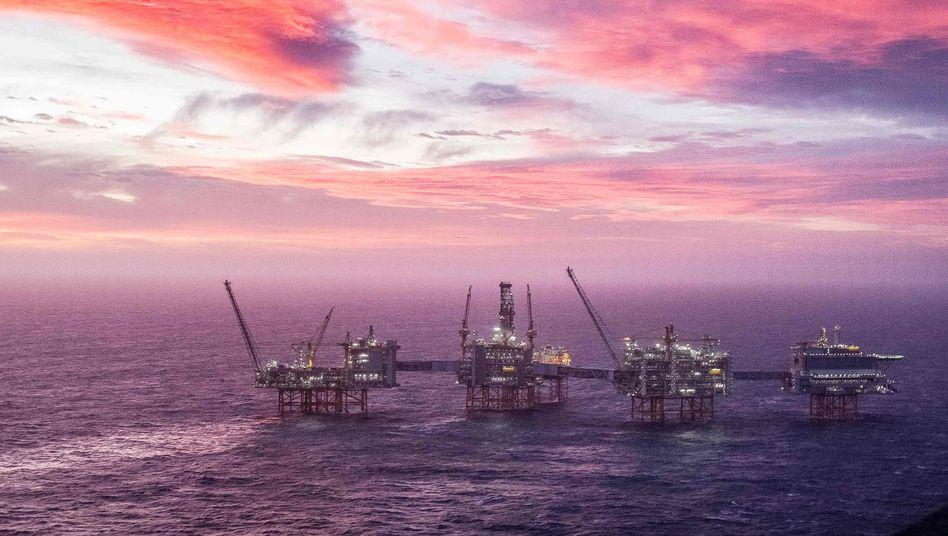 Sverdrup-Feld in der Nordsee: Hier soll 50 Jahre lang Öl und Gas gefördert werden