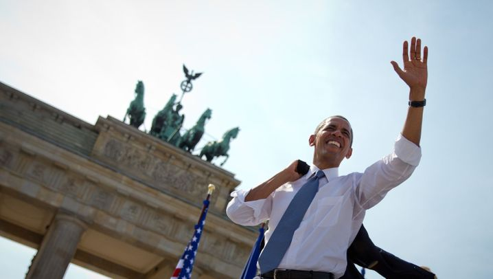Photo Gallery: A President Visits Berlin