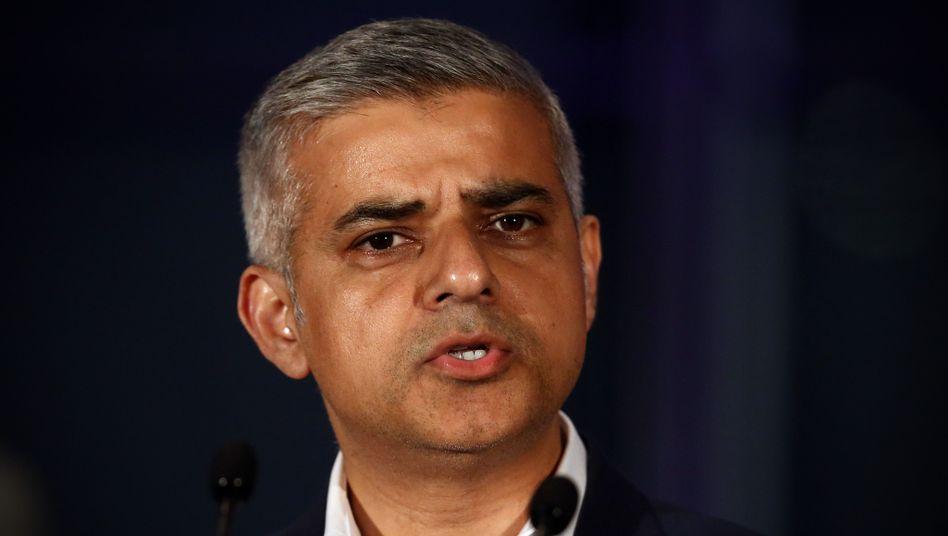 Londons Bürgermeister Sadiq Khan (Archivbild)