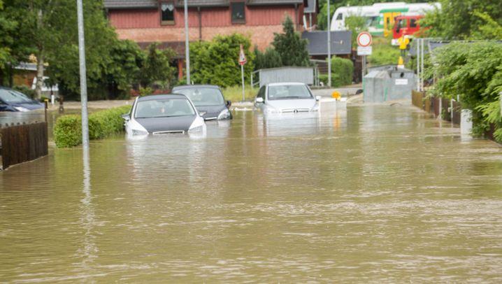 Schwere Unwetter in Sachsen: Land unter