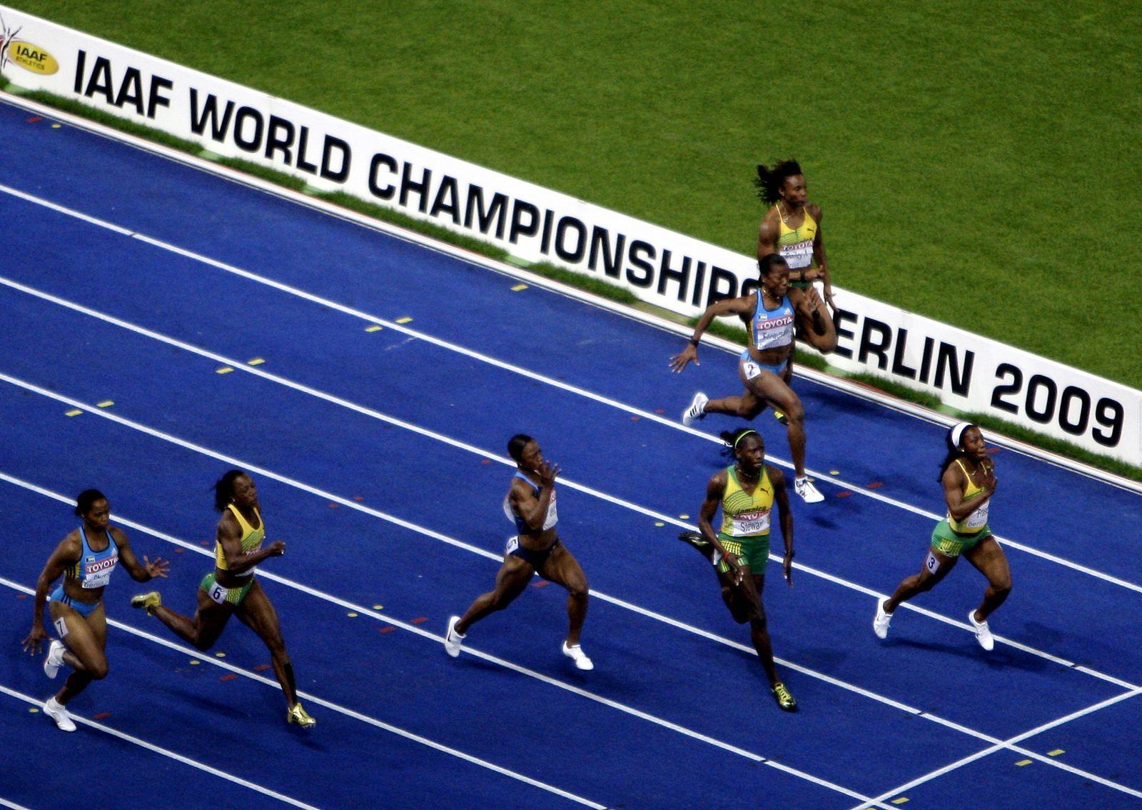 Leichtathletik-WM / 100 Meter Finale