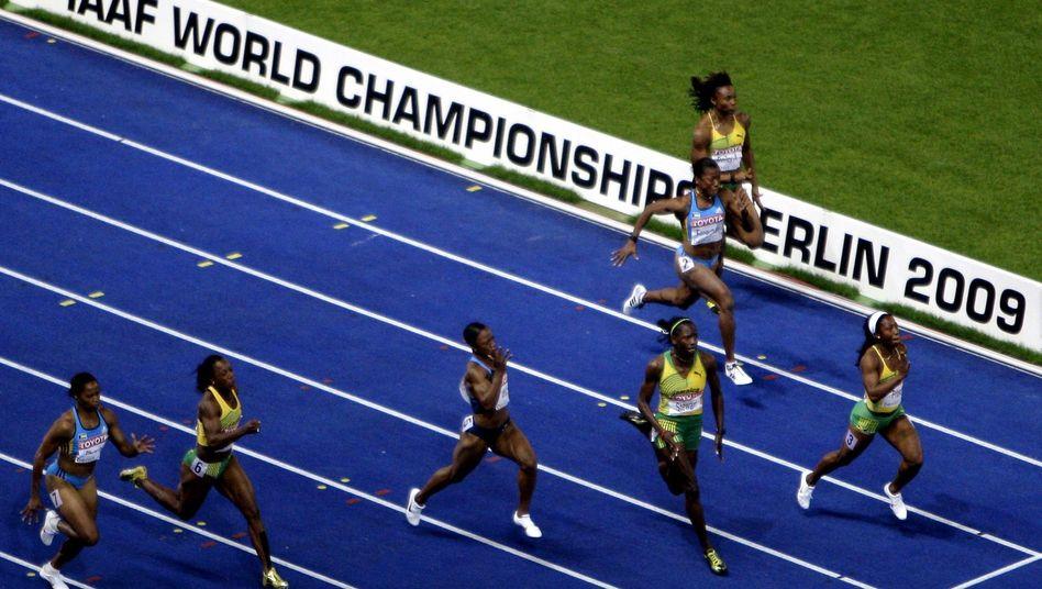 Athletinnen bei der WM: Lasche Kontrollen im Vorfeld