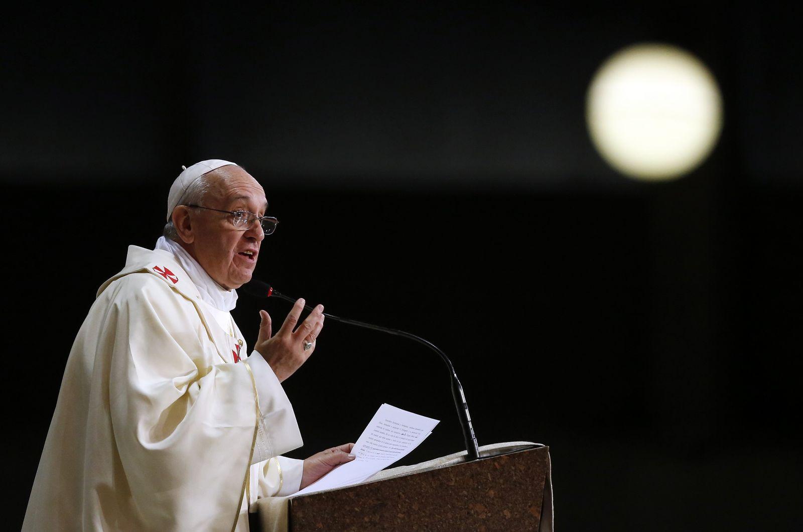 Papst Franziskus Brasilien Weltjugendtag WYD