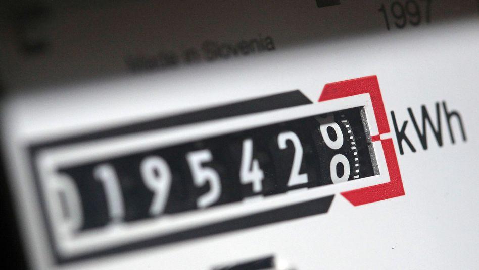 Stromzähler: Energie ist 5,3 Prozent teurer als vor einem Jahr