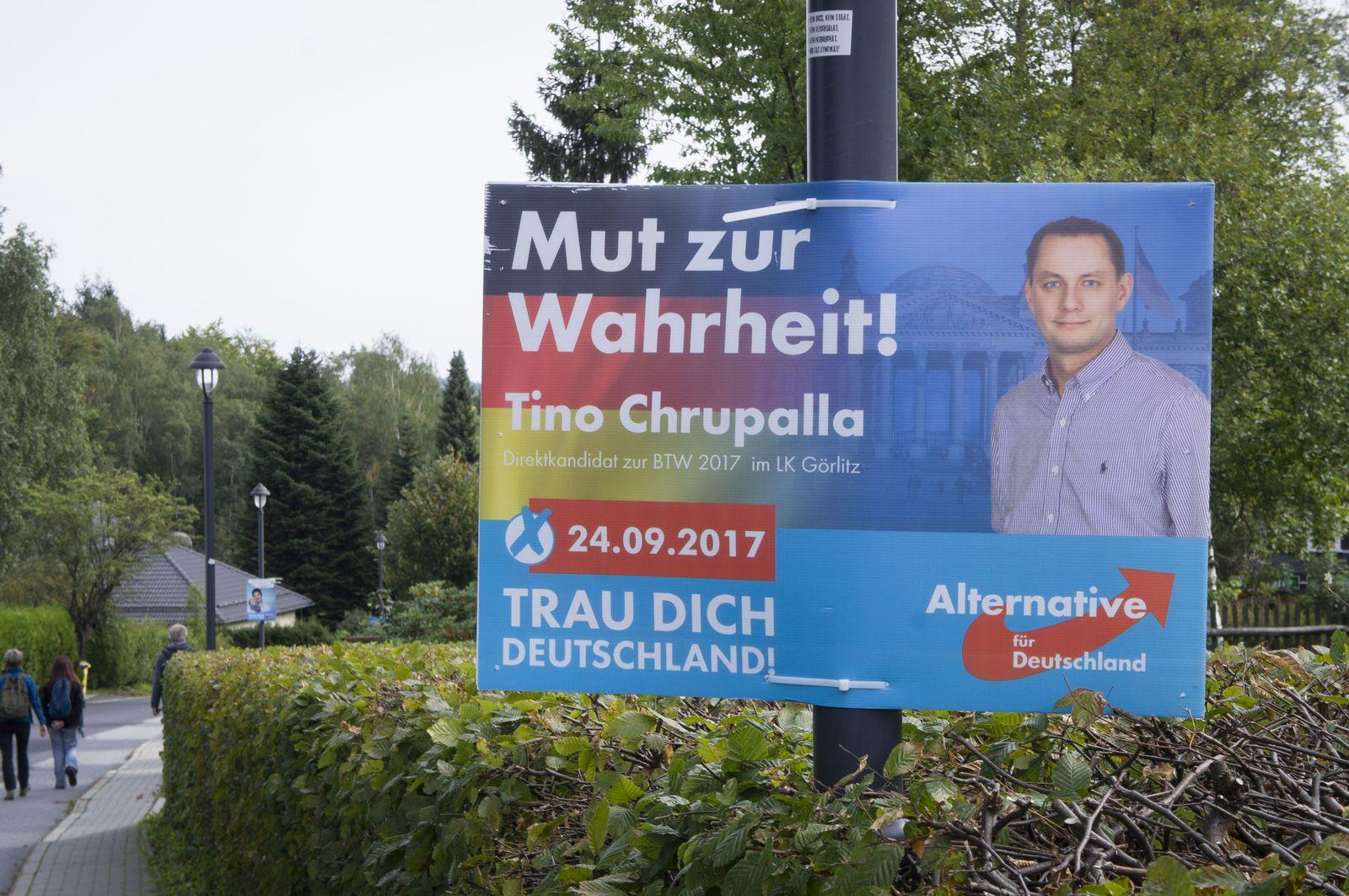 Tino Chrupalla/ Wahlplakat