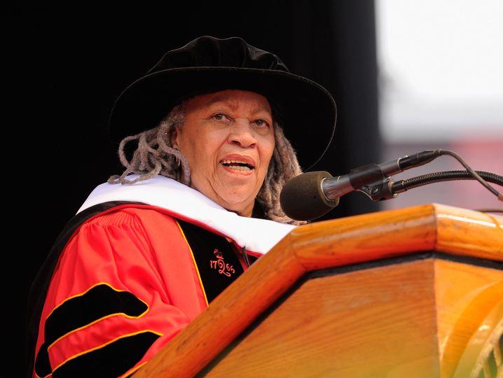Toni Morrison, Autorin und Ehrenprofessorin an der Rutgers Universität, 2011