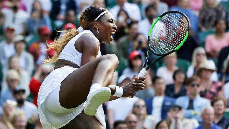 Serena Williams in Aktion