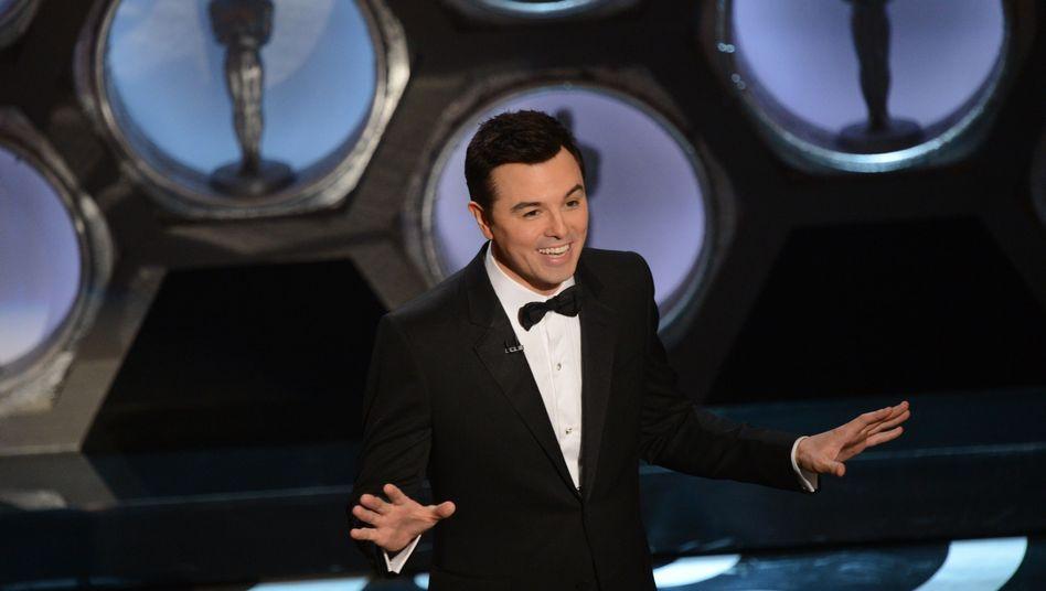Hohe Quote, viel Kritik: Moderator Seth MacFarlane bei der Oscar-Gala 2013