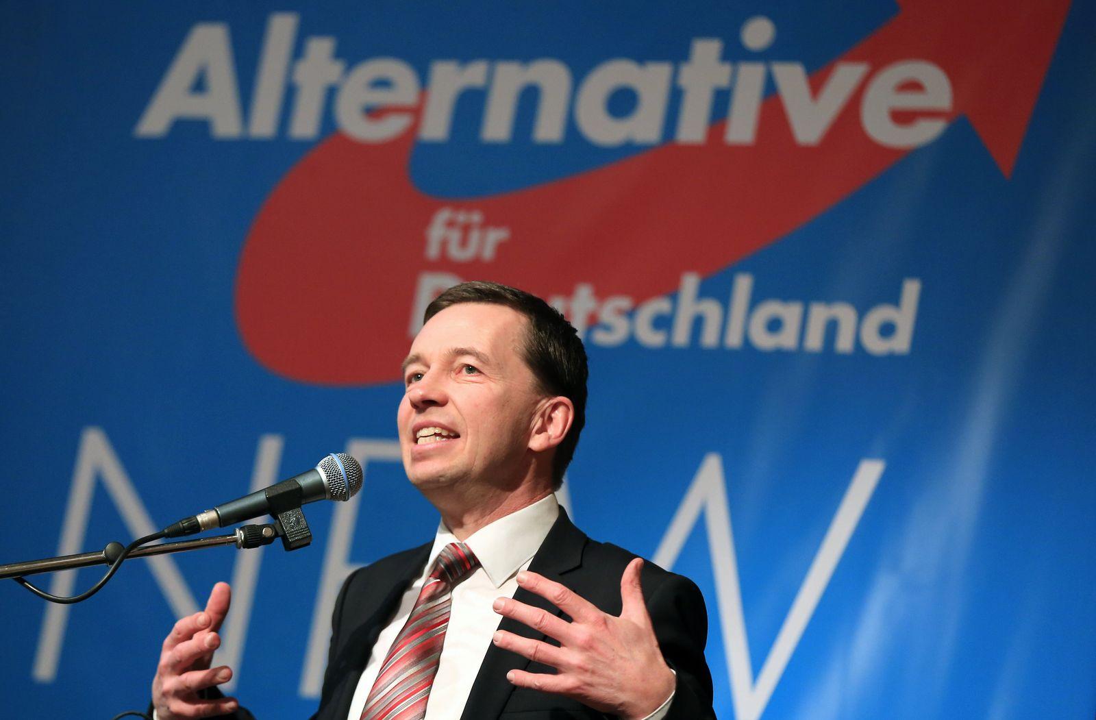Abschluss des 8. Landesparteitag der AfD NRW