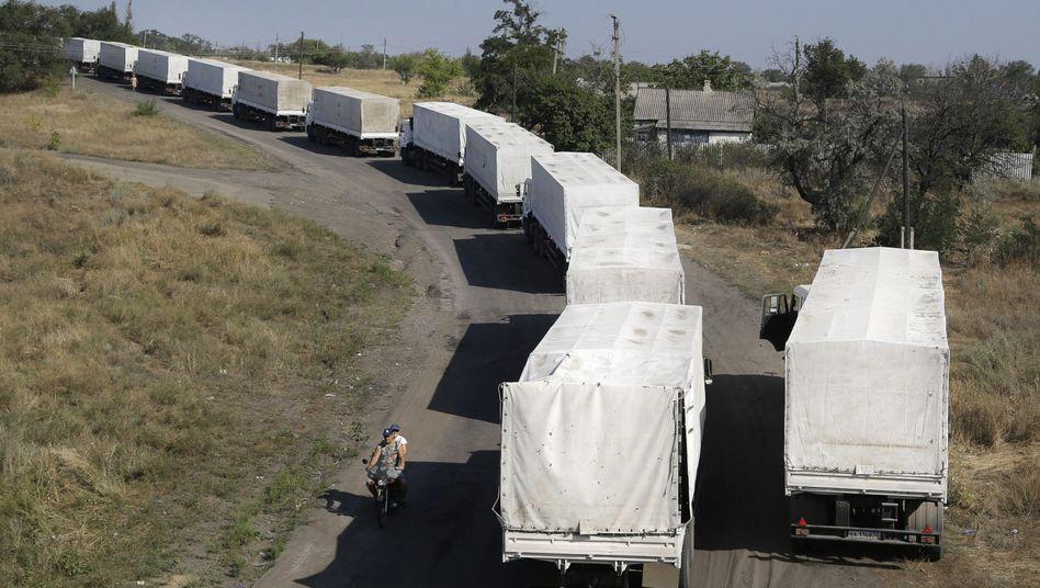 Ukraine-Konflikt: Russland kündigt zweiten Hilfskonvoi an
