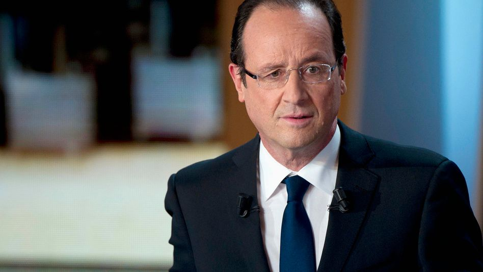 French presidential candidate Francois Hollande's Socialists are currently leading in the polls.