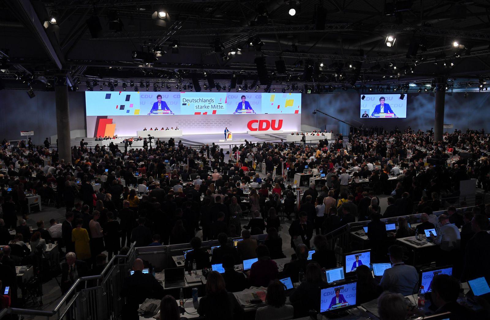 CDU-Bundesparteitag 2019