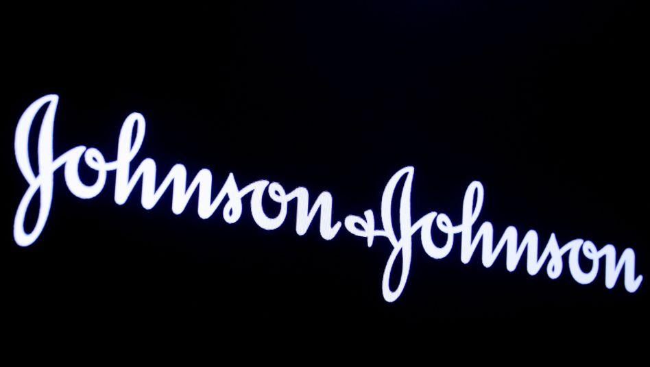 Logo von Johnson & Johnson: Vergleich drei Wochen vor Verhandlungsbeginn